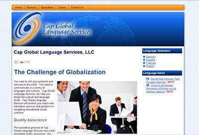Cap Global Language Services