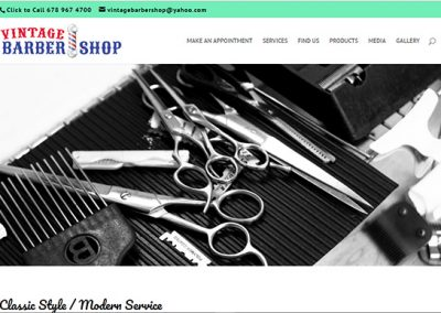 Vintage Barber Shop – Sandy Springs