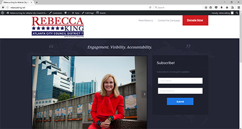 Rebecca King for Atlanta City Council District 7