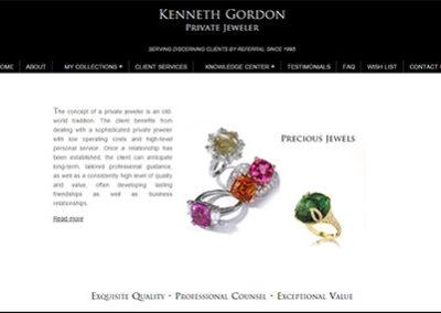 Kenneth Gordon ~ Private Jeweler